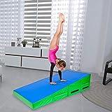 zipperl Folding Incline Gymnastics Mat Wedge Shape Tumbling Exercise Mat