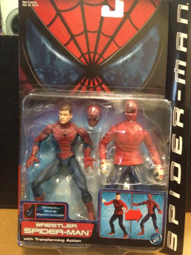 (Spiderman Wrestler with Transofrming Action Series 3)