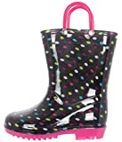 Capelli New York Toddler Girls Dots Printed Rain