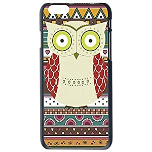 Fashion Custom Owl Design Owls Plastic Hard Case Cover Back Skin Protector For Apple iPhone 6G by Alexism Size73