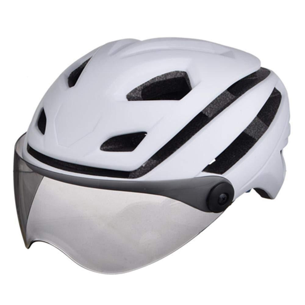 Relddd Bicycle Helmet Made of EPS+PCFahrradhelm Gemacht von Eps + pc Brille Helm Radfahren draußen Reiten Helm Reithelm Ausrüstung