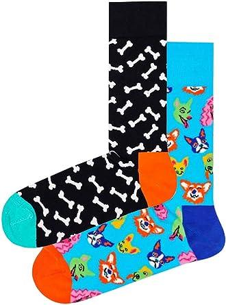 Happy Socks Mens Dog Socks