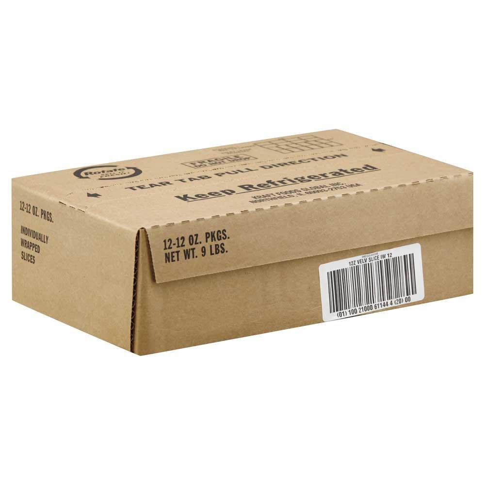 Kraft Velveeta Sliced Cheese, 12 Ounce - 12 per case. by Velveeta (Image #1)