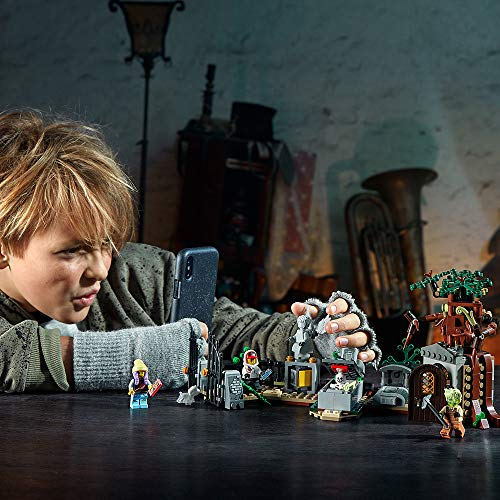 51pUNQm7oyL - LEGO Hidden Side Graveyard Mystery 70420 Building Kit, App Toy for 7+ Year Old Boys and Girls, Interactive Augmented Reality Playset, New 2019 (335 Pieces)