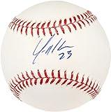 Yonder Alonso Oakland Athletics Autographed Baseball - Fanatics Authentic Certified - Autographed Baseballs