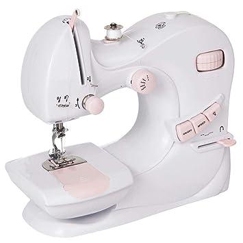 GSKTY Máquina de Coser eléctrica de Escritorio Multifuncional hogar 24 * 12 * 23 cm: Amazon.es: Hogar