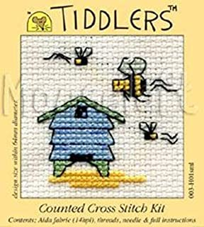 Tiddlers by Mouseloft X Stitch Kit Visiting Bee