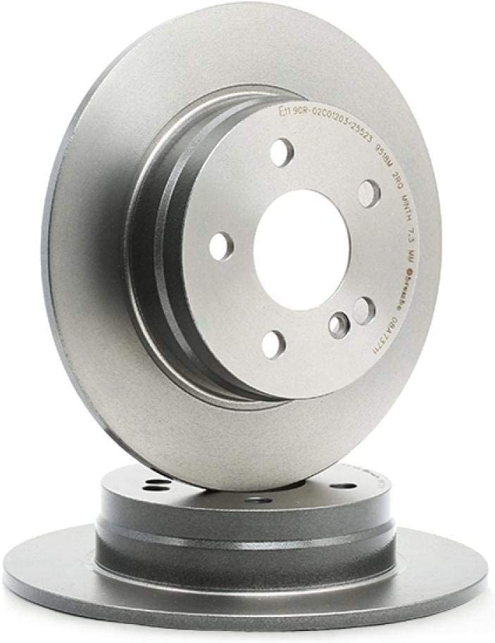 Brembo 08.A737.11 Bremsscheibe COATED DISC LINE
