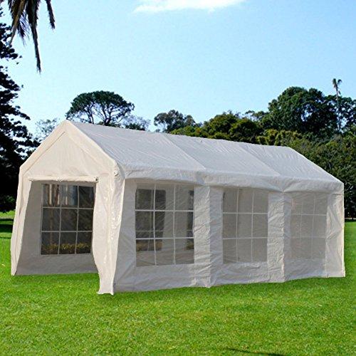 SNAIL 10 X 20 ft. Portable Carport, Car Canopy Storage Sh...