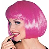 Rubie'S Costume Co Super Model Hot Pink Wig Halloween Accessory
