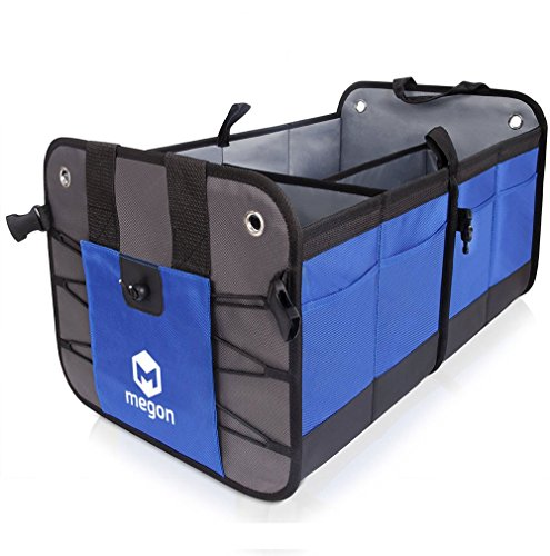 PORUM Large Car Trunk Boot Organizer Organiser Tidy Bag, Heavy Duty, Waterproof, Tools Carry Bag Box, Car Trunk Storage, Car Boot Storage, Car Boot Tidy Organiser For Alfa Romeo Jaguar XJ by PORUM