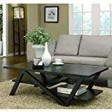 247SHOPATHOME ID-10376CT Coffee-Tables, Black