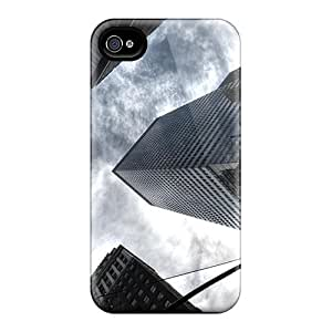 3D PC Case Cover for Iphone 6 Custom Hard Shell Skin for Iphone 6 With Nature Image- Sunset and tercel