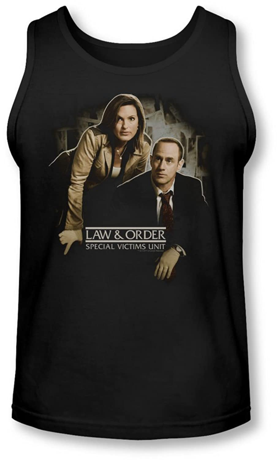 Law & Order: Special Victim's Unit - Mens Helping Victims Tank Top