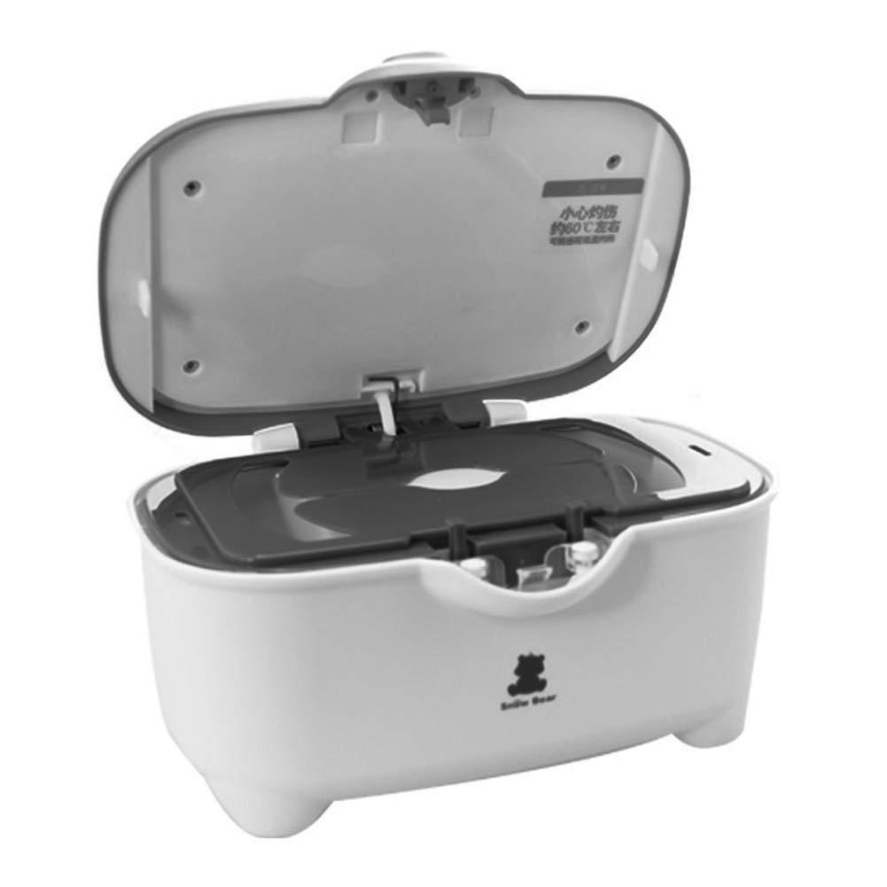 Calentador de toallitas Calentador de temperatura constante 24 h Caja de aislamiento de papel húmedo portátil de gran capacidad Caja de aislamiento de ...