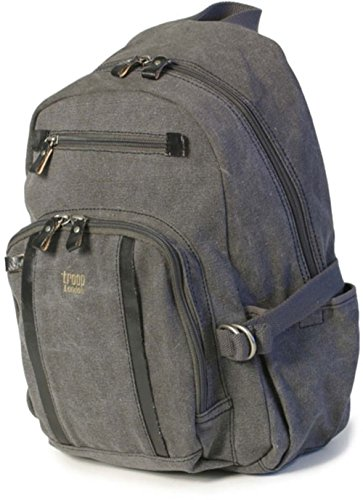 troop-london-classic-medium-backpack-canvas-bag-case-cover-trp0256-black