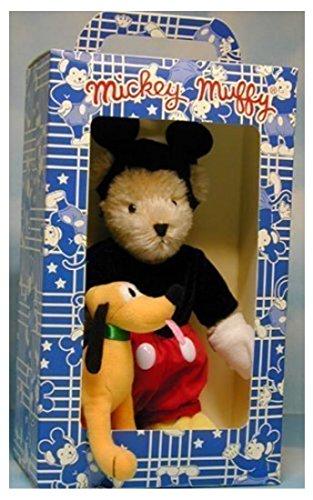 VHTF Limited Edition Walt Disney Mohair Mickey Mouse Muffy Bear NEB