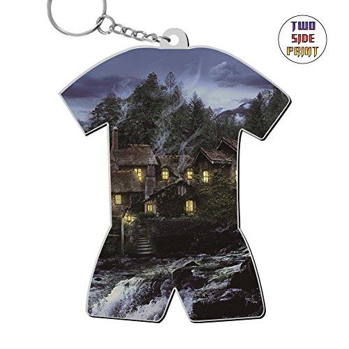 Cute Keychain Olde Mill Keyring World Cup Polo Shirt Logo Key Ring Key Fob Alloy Nice Gift