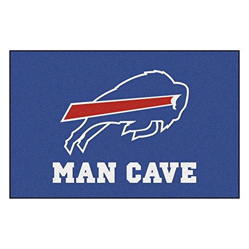FANMATS 14273 NFL Buffalo Bills Nylon Universal Man Cave Starter Rug