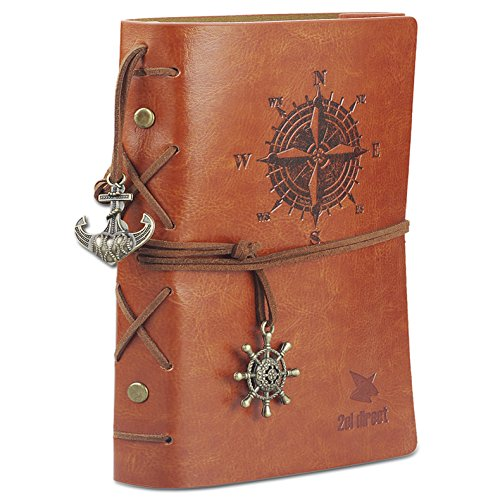 Leather Writing Journal Notebook, 7