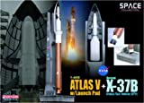 Dragon Models 1/400 Atla V With Launch Pad + X-37B Orbital Test Vehicle (OTV) (Space)