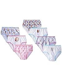 Disney girls Little Girls Frozen Seven-pack Panty Set