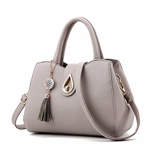femmes coeur sac Gris à clair sac Bag main Femmes à à main avec sacs bandoulière Messenger des qxpnvwY61