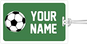 Kids Labels Waterproof, Durable Personalized Large Tag Soccer Design