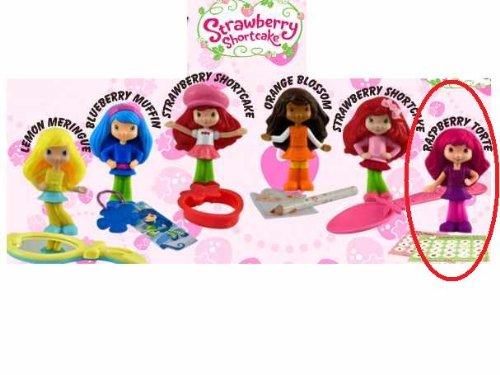 McDonalds Happy Meal Strawberry Shortcake Raspberry Torte Scented Doll w/Fashion Stickers Toy #6 2010