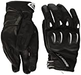 Joe Rocket Men's Cyntek Motorcycle Gloves (Matte Black, Large)