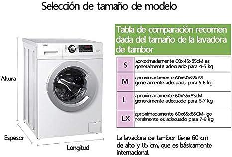 Depory Funda Lavadora Carga Frontal,Cubierta Lavadora reciclable ...
