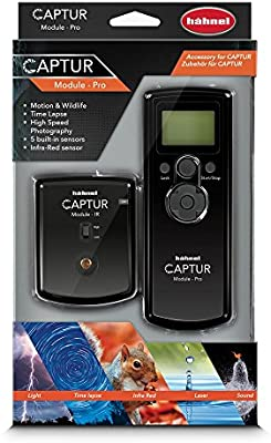 Amazon.com : Hahnel CAPTUR Remote Camera/Flash Trigger Captur Pro Module, Black (HL -CAPTUR Pro) : Camera & Photo