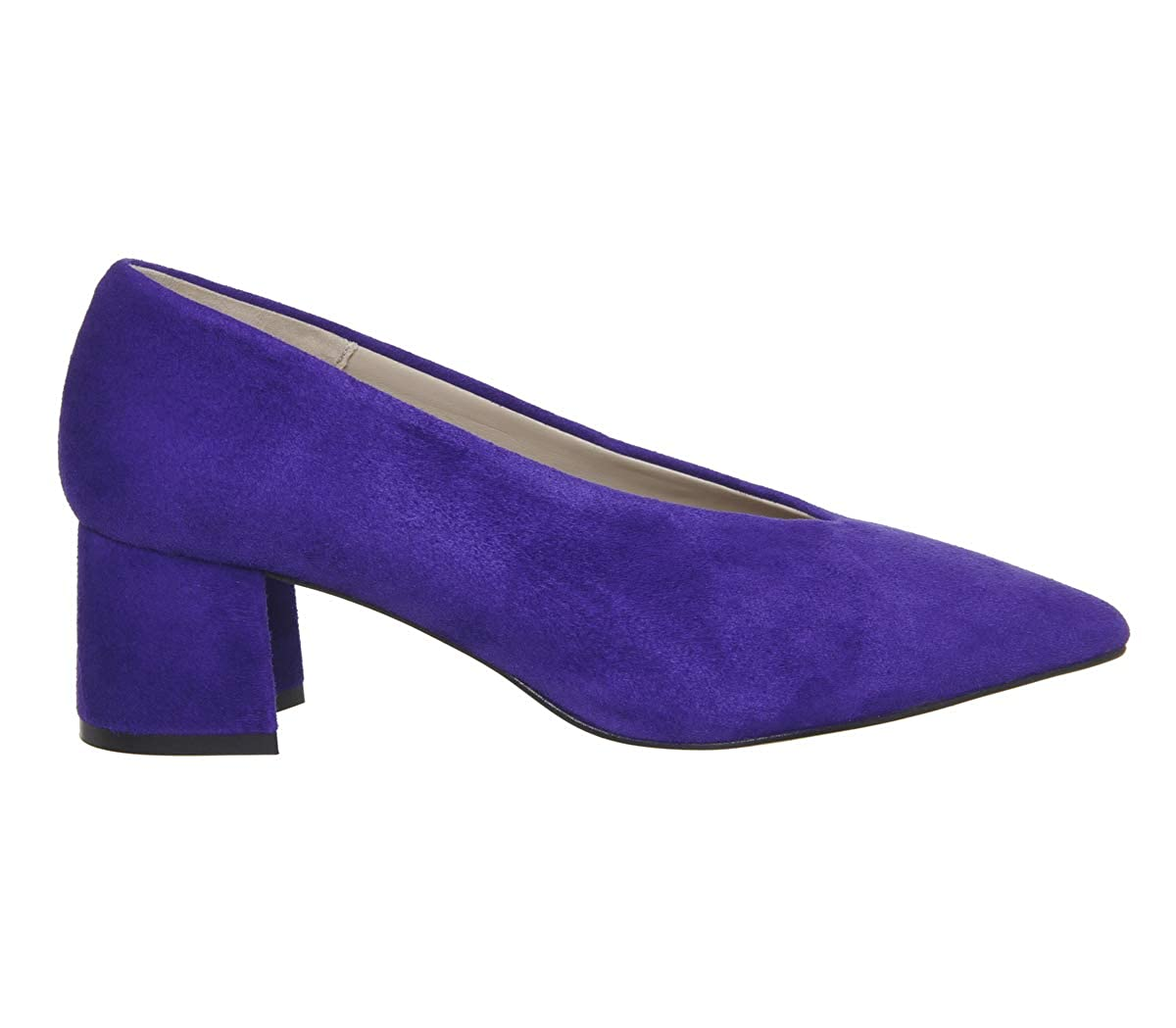 Unbekannt Damen Office, Damen Unbekannt Pumps Violettes Wildleder 80e678