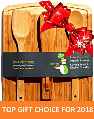 Greener Chef Bamboo Cutting Board Housewarming Christmas