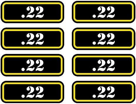 .308 Ammo Can Sticker Set Decal molon labe bullet 308 type 2 FA Vinyl 8x