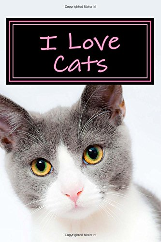 Download I Love Cats: Blank Lined Journal pdf