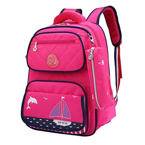 Pink Casual Bookbags CHENYANG Female Backpacks Daypack Backpack Backpack 2 Small Womens Backpack Print Travel 77q1Hwv
