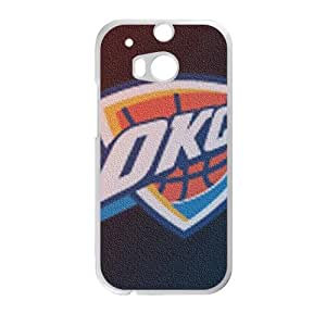 WFUNNY oklahoma city thunder New Cellphone Case for HTC One M8