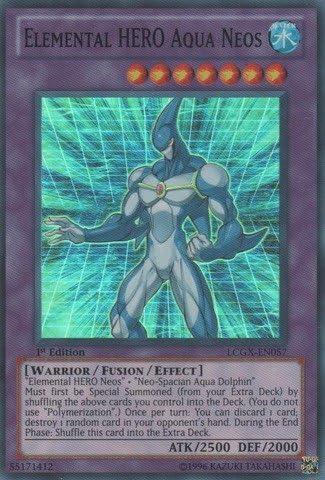 Elemental Hero Aqua Neos Ultra Rare