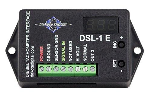 - Dakota Digital DSL-1 Universal Diesel Alternator Tachometer Interface Dakota Digital