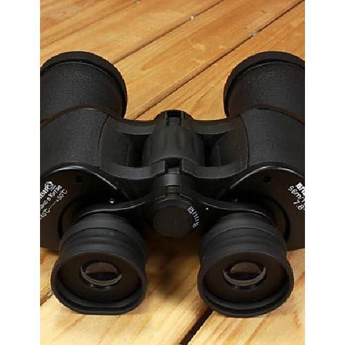 PIGE Jumelles Portable BRESEE 20 x 50 Jumelles Nuit Télescope Vision HD 81M Steady / 1000M Jumelles