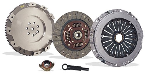 Clutch And Conversion Flywheel Kit works with Hyundai Sonata Santa Fe Kia Optima Gl Ex Lx Base Se Sedan Sport Utility 2001-2005 2.4L L4 GAS DOHC Naturally Aspirated - 2005 Hyundai Sonata Clutch