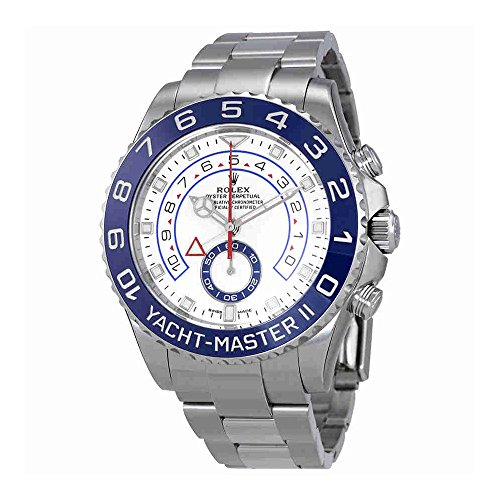 Rolex Yacht-Master II White Dial Automatic Mens Watch 116680-0002