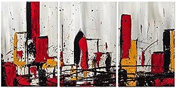 Cuadros Modernos Tele spessorate (Altura Marco 4,5 cm) pintada a ...