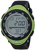 Suunto Men's Vector SS010600M10 Black Rubber Quartz Watch with Digital Dial