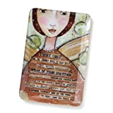 Demdaco Kelly Rae Roberts Embrace Change Decorative Glass Plate