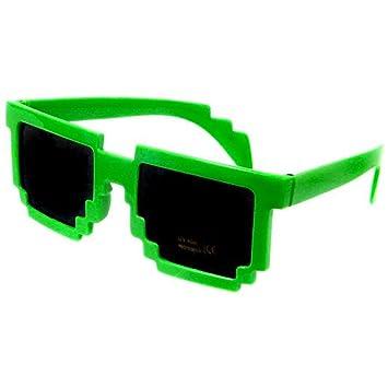 799e0e0dd34cf Amazon.com  Minecraft Pixelated Sunglasses Accessory  Green   Toys   Games
