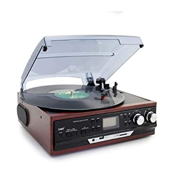 YWAWJ Tocadiscos, Retro del fonógrafo de la Placa giratoria ...