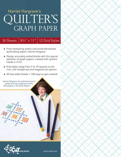 Harriet Hargrave S Quilter S Graph Paper 50 Sheets 8 1 2 X 11 12 Grid Styles Hargrave Harriet 9781607051992 Books Amazon Ca