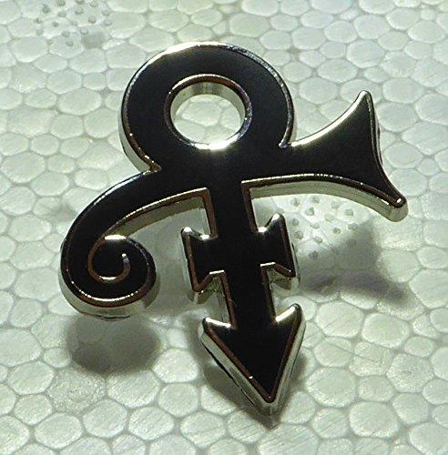 Prince Love Symbol Lapel Pins (Black)
